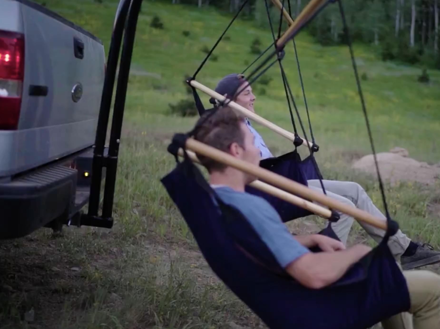 Trailer Hitch Hammock Chairs