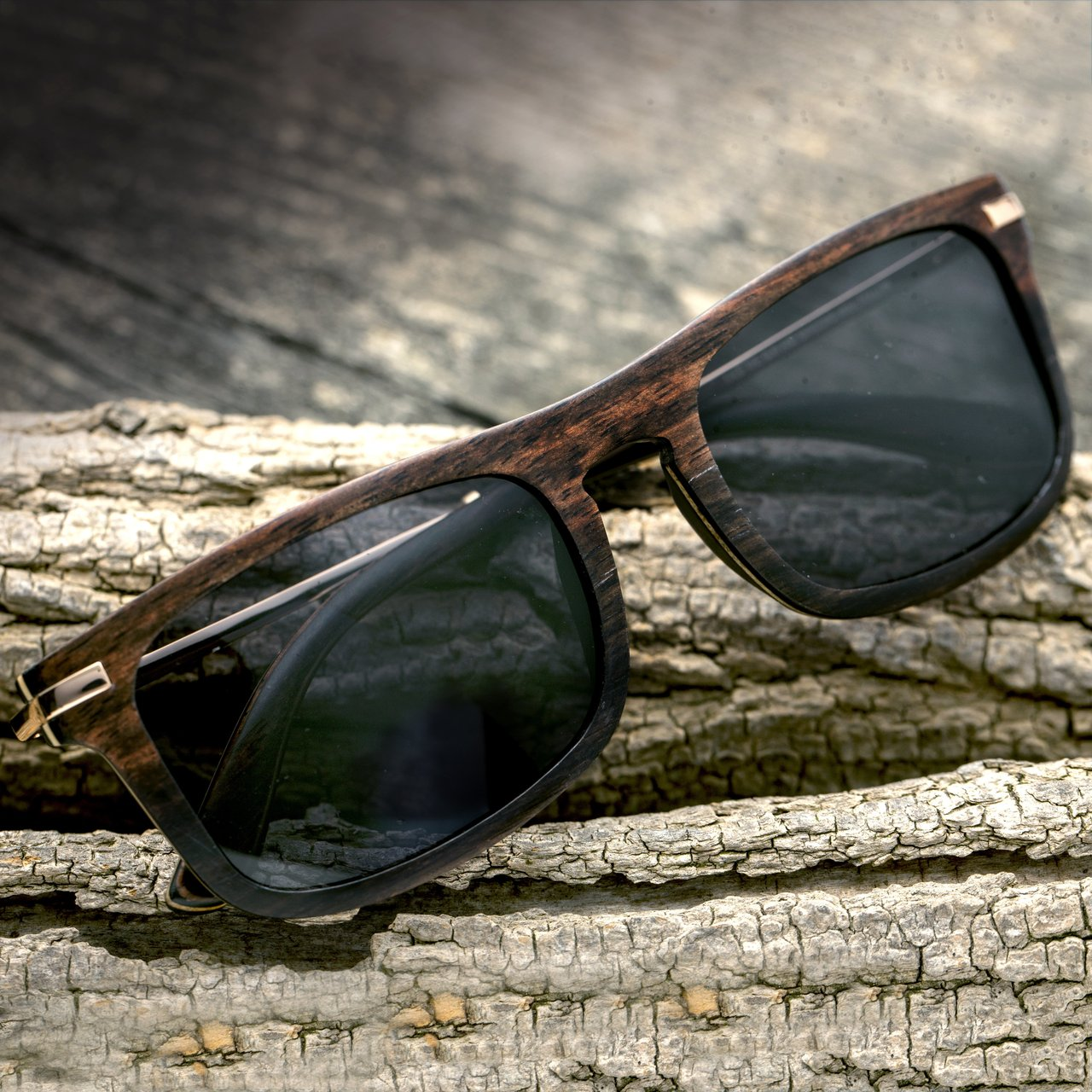 Earth Wood Queensland Polarized Sunglasses