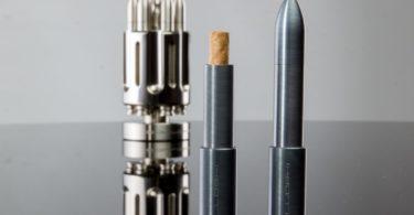 Cronus Bullet Titanium Cigarillo Saver by Solloshi