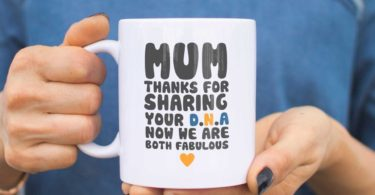 Mum Thanks For Sharing Your DNA Coffee Mug