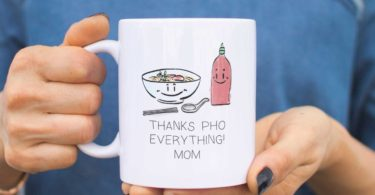 Mom Thanks Pho Everything Coffee Mug