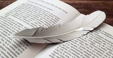 Kosha Feather Bookmark