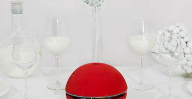 Egloo Red Candle Powered Heater