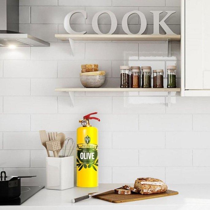 OLIVE Designer Fire Extinguisher