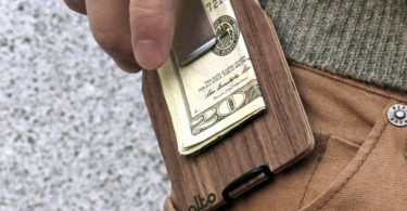 Walnut Wood Wallet by Alto Collective