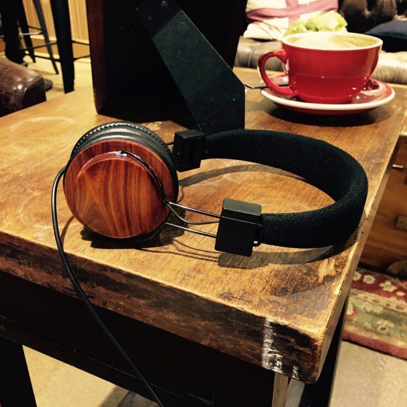 Wood Trim Headphones