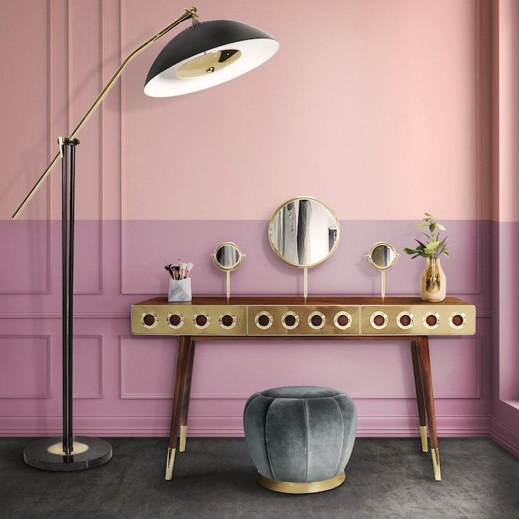 Golden Eye Dressing Table
