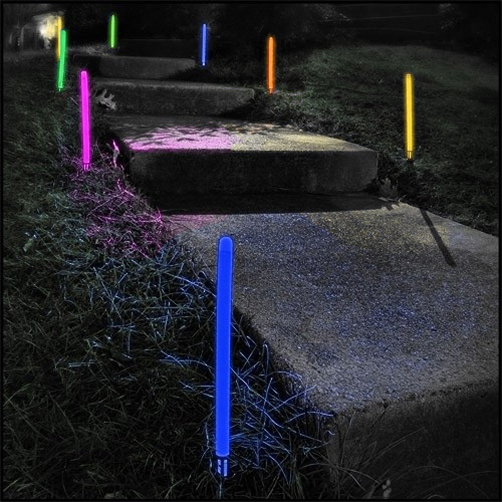 Jumbo Glowing Ground Stakes by Lumistick
