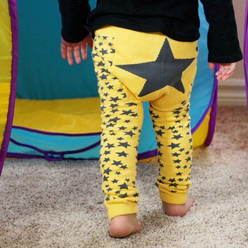 Yellow Star Legging
