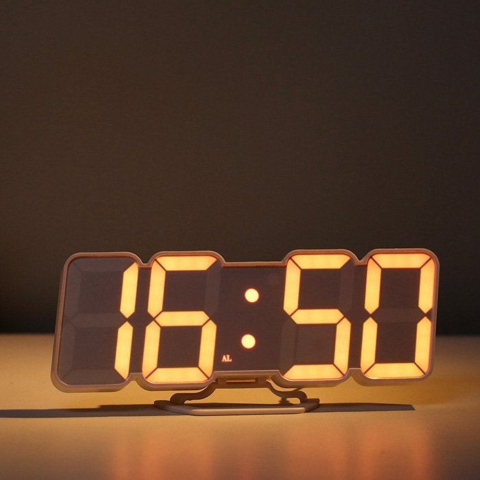 Digital LED Desktop Alarm Clock