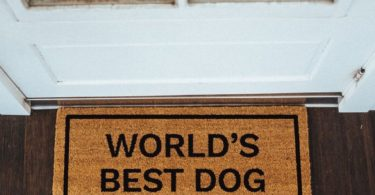 World's Best Dog Inside Doormat