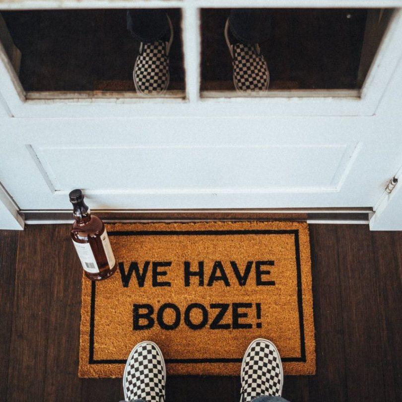 We Have Booze! Doormat