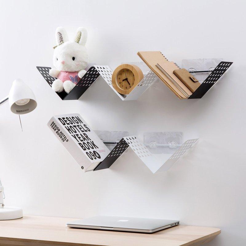 Wall-Mounted Bookshelf