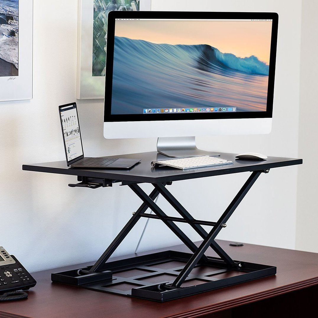 Height Adjustable Sit Stand Desk