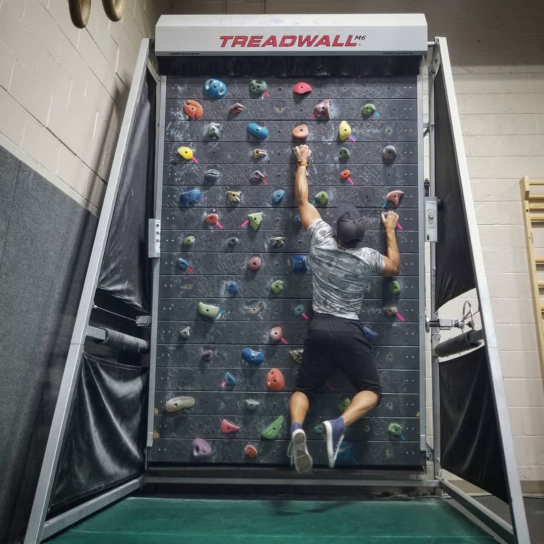Watch The Treadwall M4 Puts Rock Climbing Into The Home Gyms Of Guys video