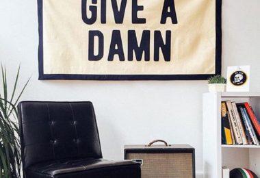 Give a Damn Championship Banner Flag
