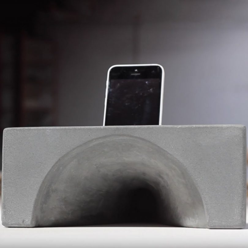 Amplif-i Concrete iPhone Dock