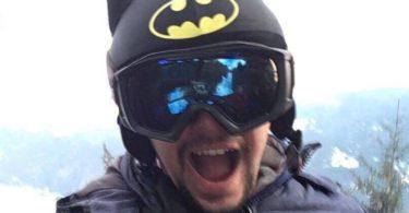 Batman Helmet Cover