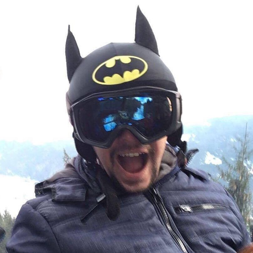 Batman Helmet Cover