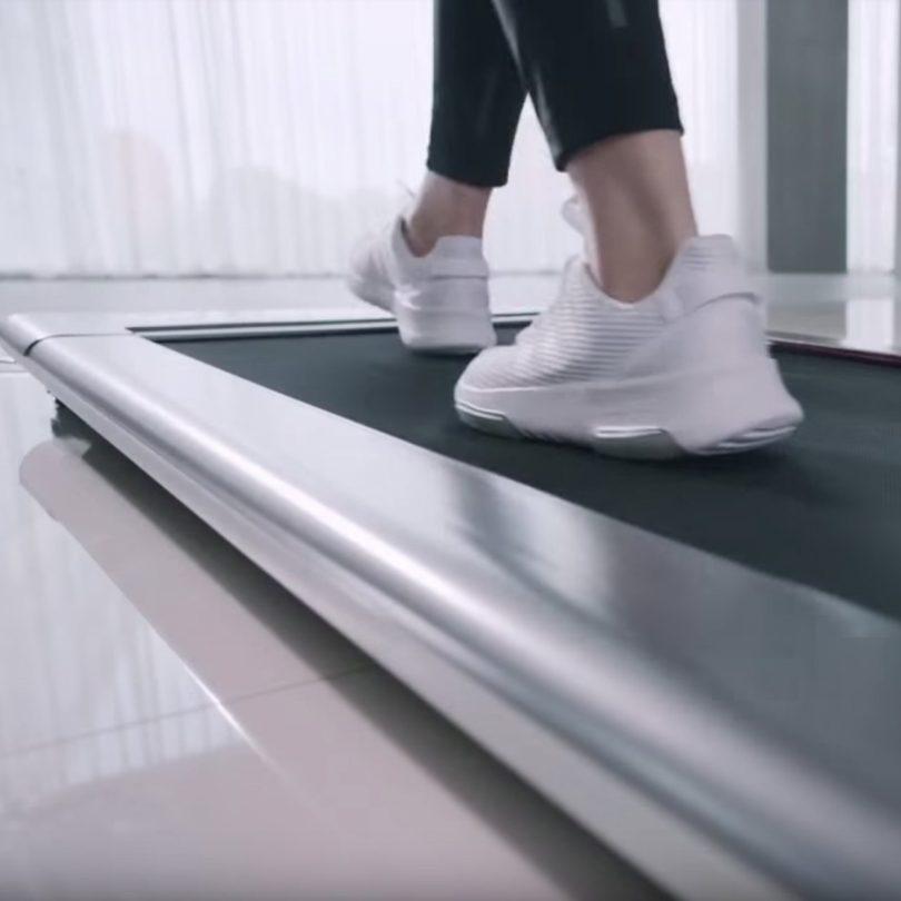 Slim Tread Ultra Thin Smart Treadmill
