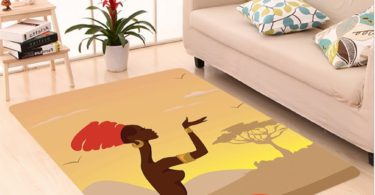 Nalahome Custom carpet ecor Spiritual Safari Lady Praying