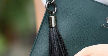 Lightning Cable USB Leather Tassel Key Chain