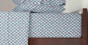 Roostery Butterfly 4pc Sheet Set