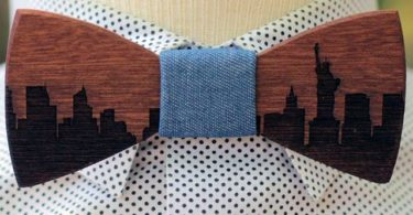 Skyline Bow Tie by Two Guys Bow Ties