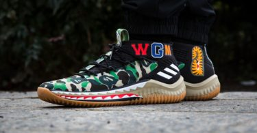 Adidas Dame 4 A Bathing Ape Black