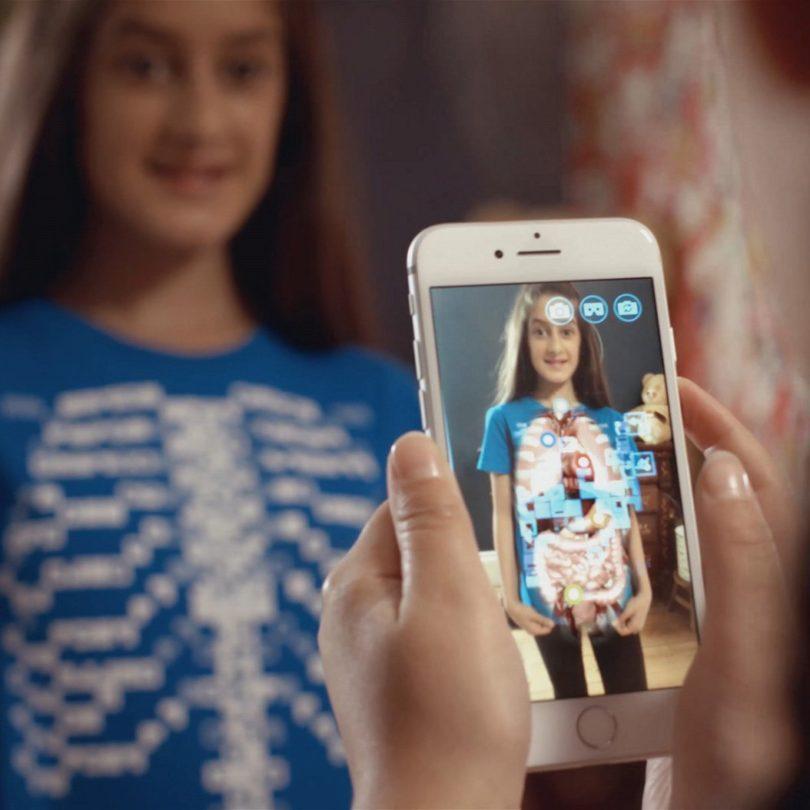 Virtuali-Tee Augmented Reality T-Shirt