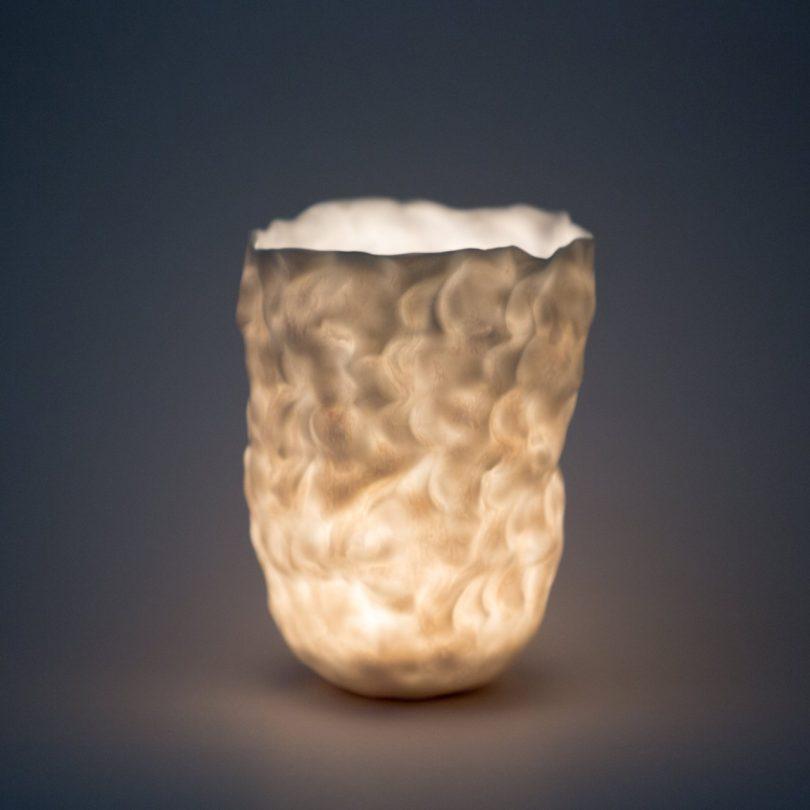 immerLit Translucent Porcelain Votive