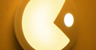 Pac Man Sensor Lamp
