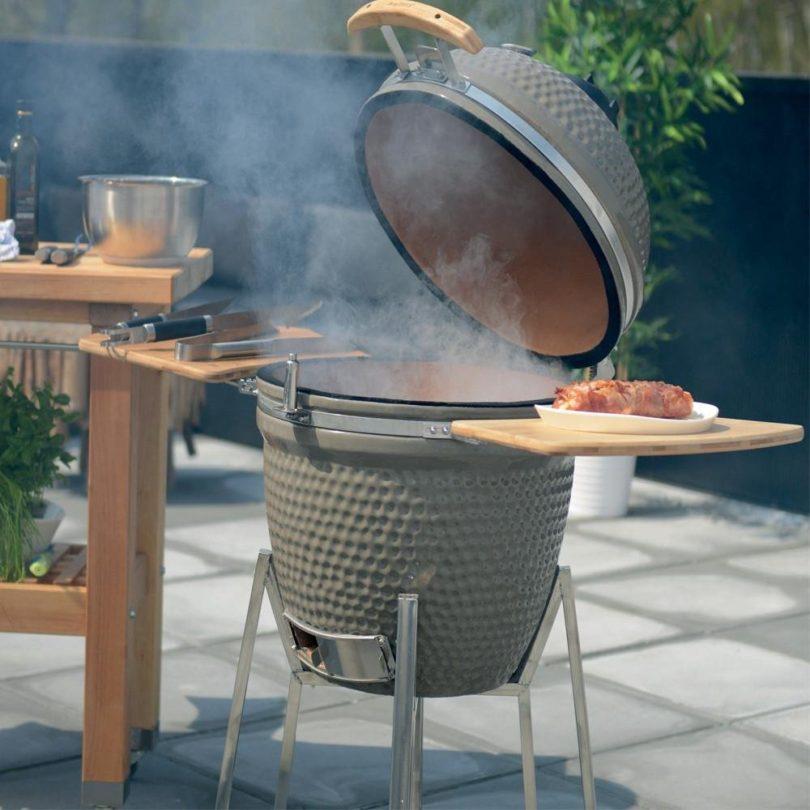 Grey Studio Ceramic Large BBQ by Berghoff