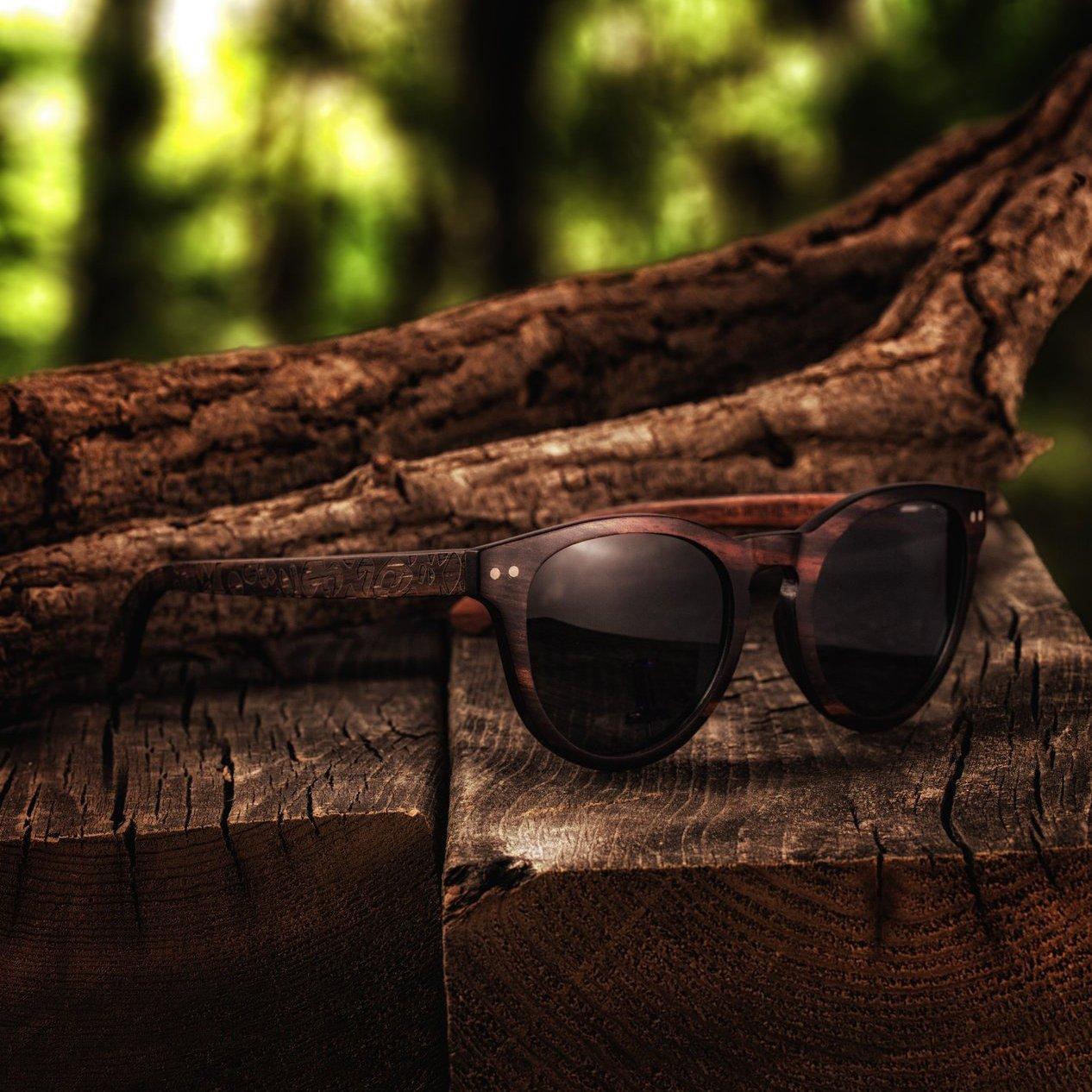 Earth Wood Copacabana Polarized Sunglasses