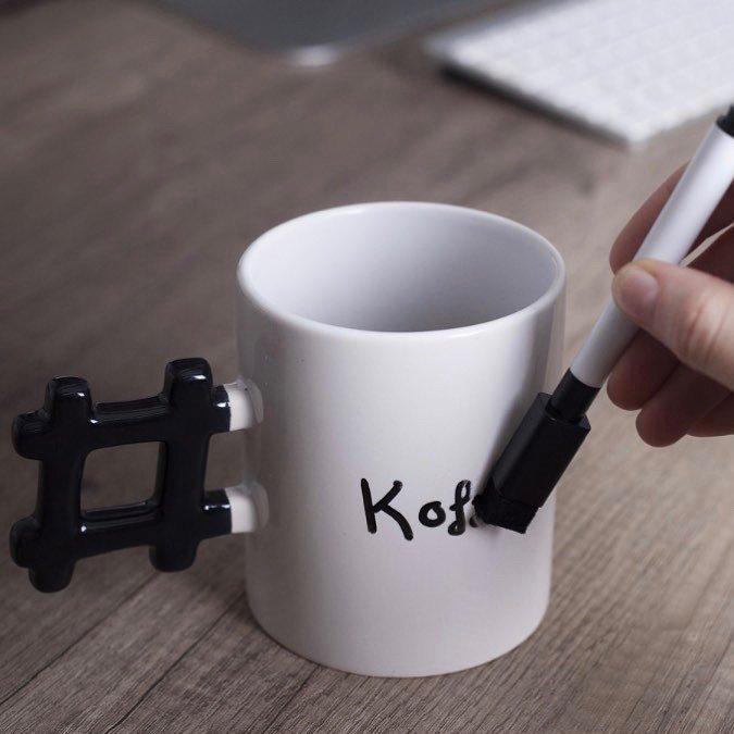 Hashtag Mug