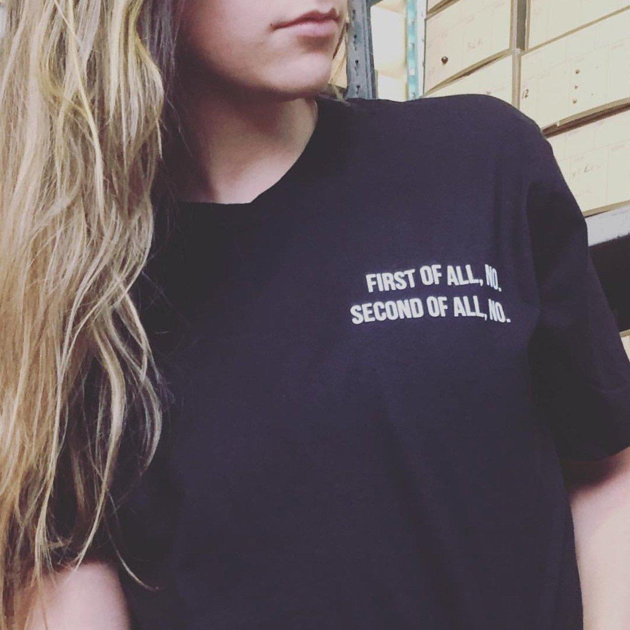 No and No T-Shirt