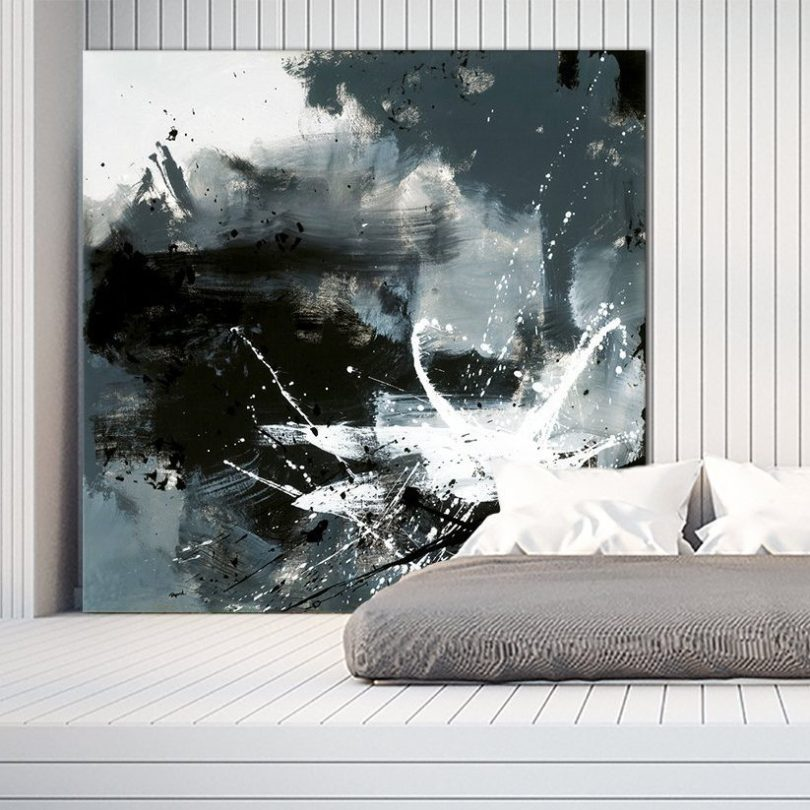 Éclats Giant Canvas Print