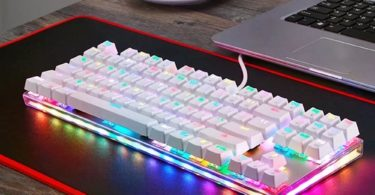 E-3LUE 104 Keys Anti-ghosting Mechanical Keyboard with Blue Switches