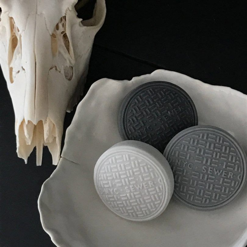 NYC SEWER 3-Piece Lotus-Scented Soap Set