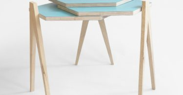 Slide Side Table by Studio Lorier