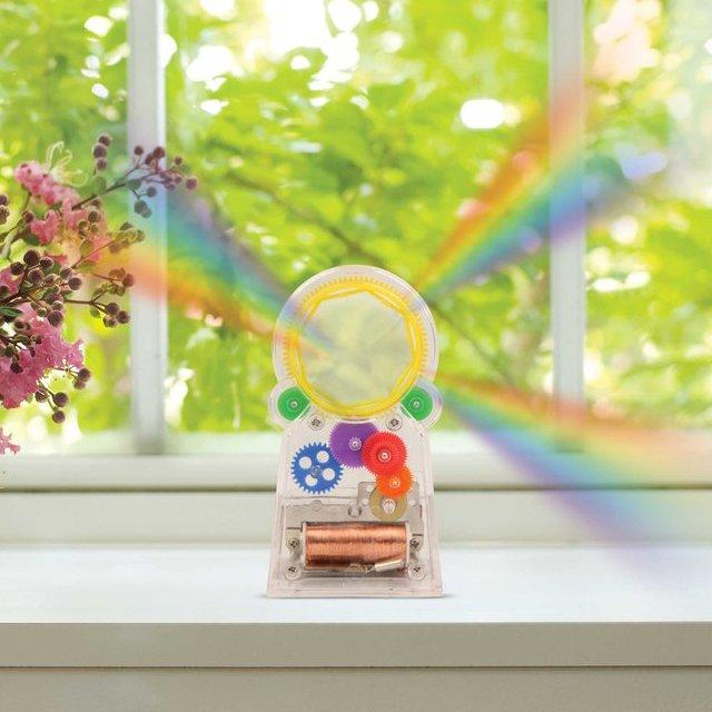 Solar Power Standing RainbowMaker + Swarovski Crystal