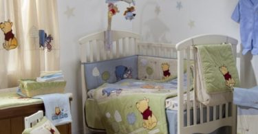 Natural Pooh Crib Bedding Set