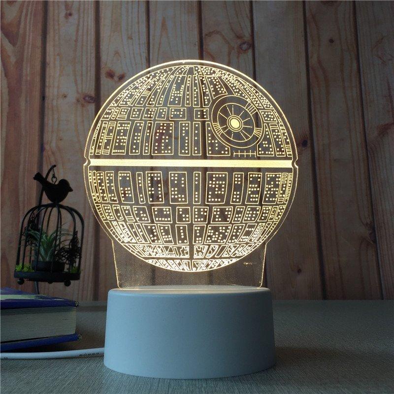 Star Wars 3D Illusion Lamp