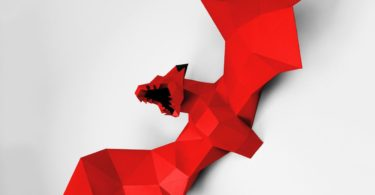 Black & Red XL Dragon Papertrophy