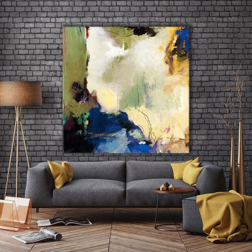 Elegant Mess Giant Canvas Print