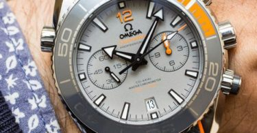 Omega Planet Ocean 600M Co-Axial Master Chronometer Chronograph Titanium 45.5 MM