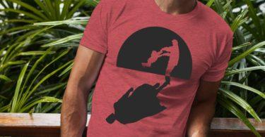 Super Dad Shadow T-shirt