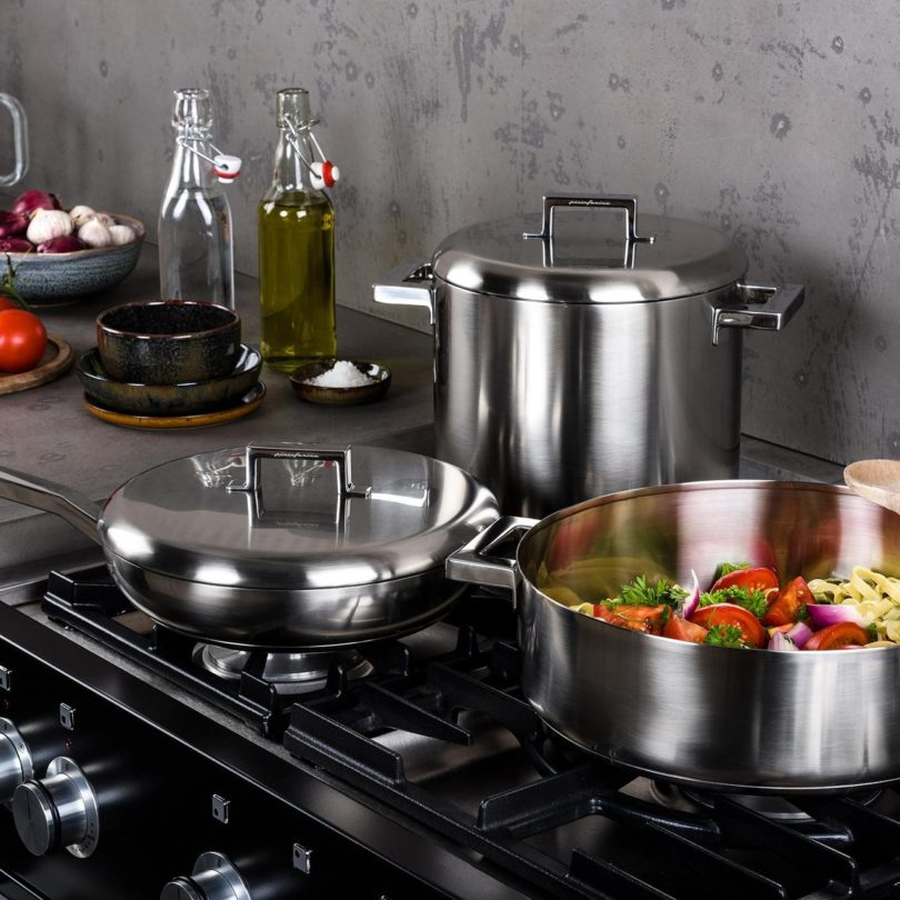 Stile by Pininfarina Cooker Set by Mepra
