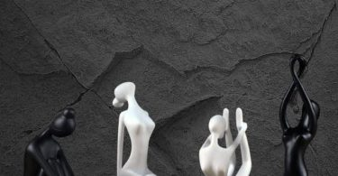 Resin Yoga Figure