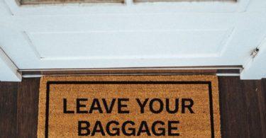 Leave Your Baggage At The Door Doormat